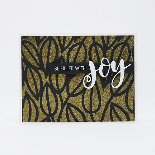 Be Filled With Joy Greeting Card