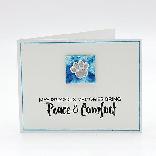 Peace & Comfort Pet Greeting Card