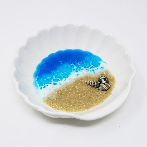 Beach Shell Ceramic Dish