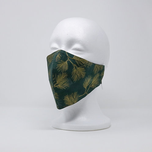 Evergreen & Gold Mask