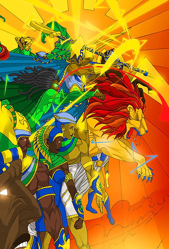 "Dreadlocks ""War of the Gods"""