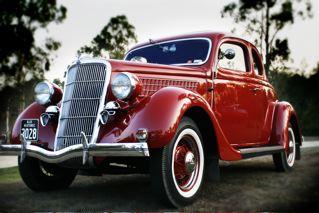 John's 36 Ford