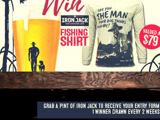 WIN IRON JACK FISHING TEE