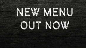 NEW MENU OUT NOW