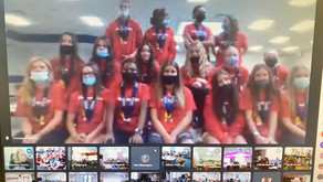 Virtual Assembly at Elementary Schools for GMS Softball Champs!