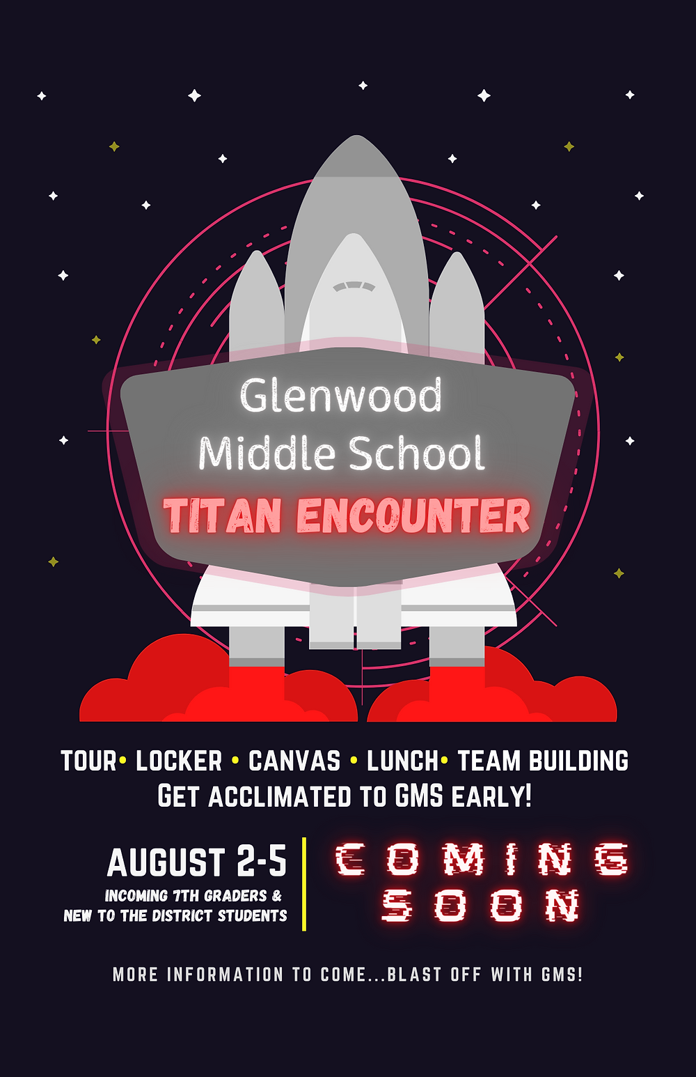 GMS Titan Encounter Transition Week