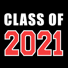 Class of 2021 word graphic