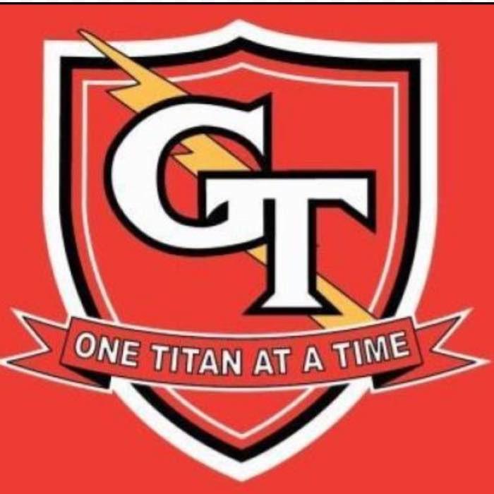 Glenwood Titan Superhero logo