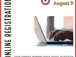 Online Registration Begins June 28