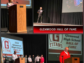 Glenwood Hall of Fame Induction Ceremony - October 1