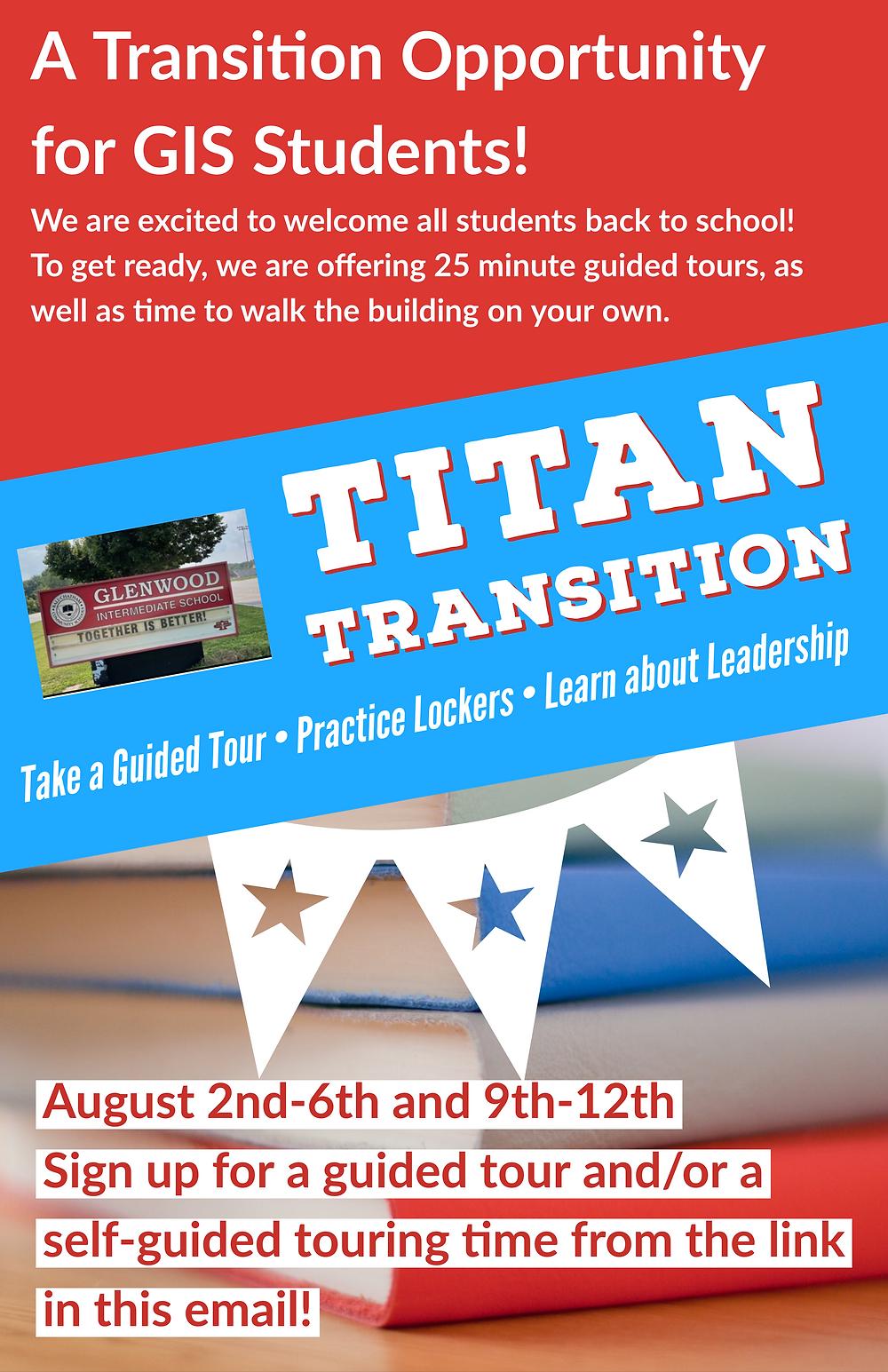 Titan Transition info graphic