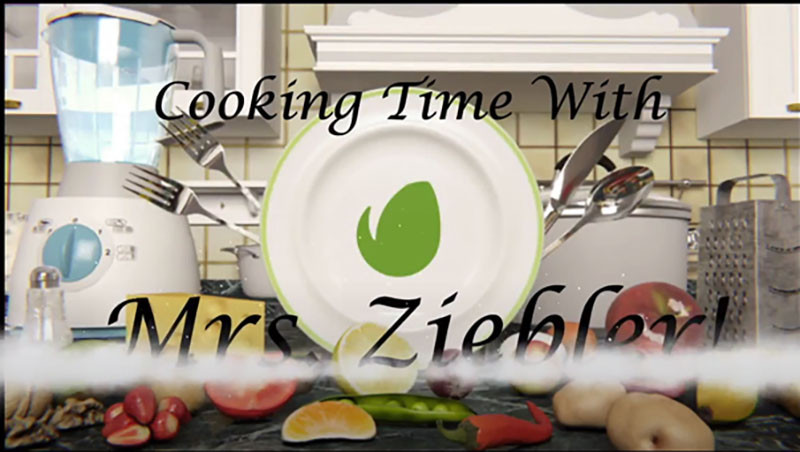 Cooking Time with Mrs. Ziebler graphic