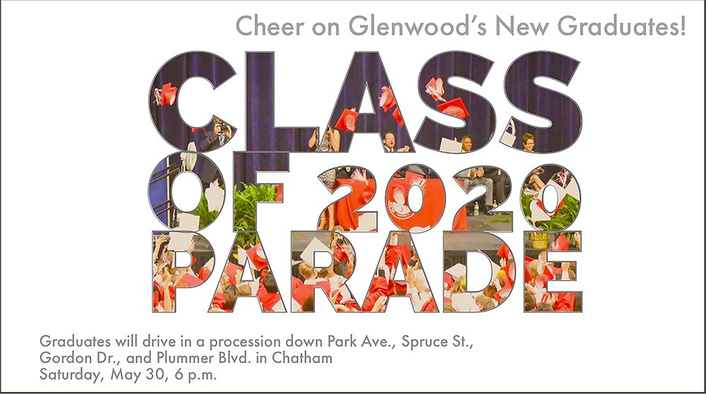 Class of 2020 Parade graphic
