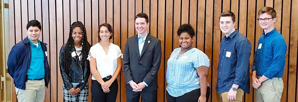 Six GHS students serve on Youth Advisory Council for public policy
