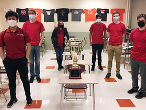 GHS Scholastic Bowl Team Wins CS8 Tournament With Undefeated Record