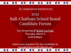 BCEA to Host School Board Candidate Forum