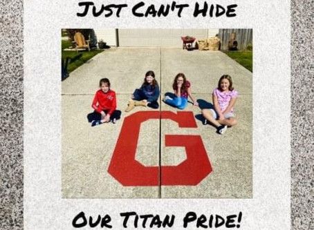 "Show Your ""G"" Titan Pride"