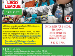 First Lego League Explore Coming Soon!