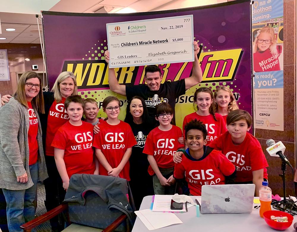 GIS Raises $15k for Children's Miracle Network