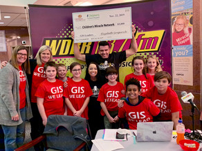 GIS Raises - in Total - $15K for Children's Miracle Network