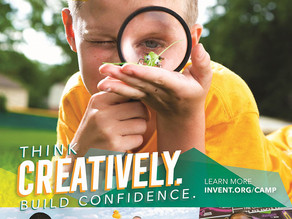 Camp Invention At-Home Coming August 2-6!