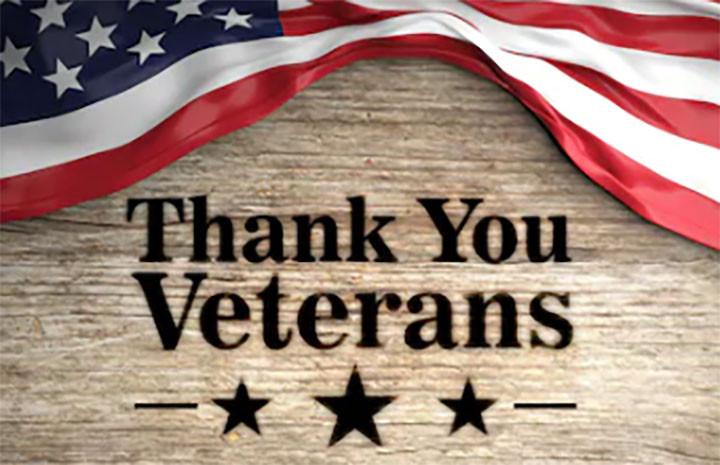 Thank You Veterans graphic
