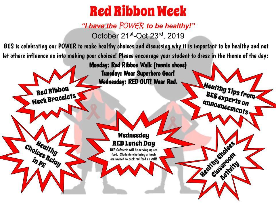 Red Ribbon Week flyer