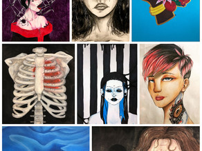 GHS Art Finalists for Carillon Show in September