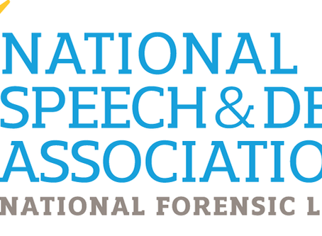 GHS Speech and Debate Team Wins National Award
