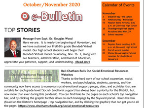 October/November issue of the eBulletin is Here!