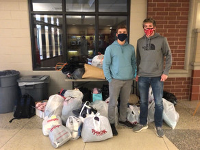 GHS National Honor Society Collects Items for the Salvation Army