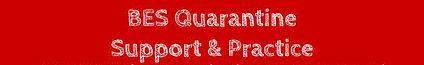 BES Quarantine Support & Practice
