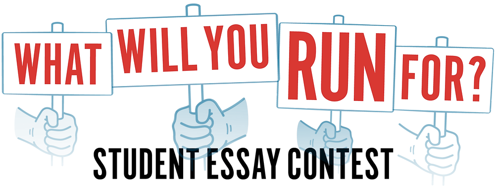 What Will You Run For? graphic