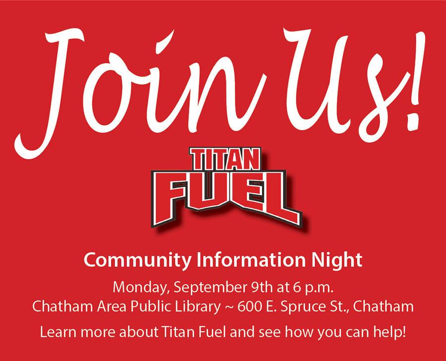 Titan Fuel Community Night September 9