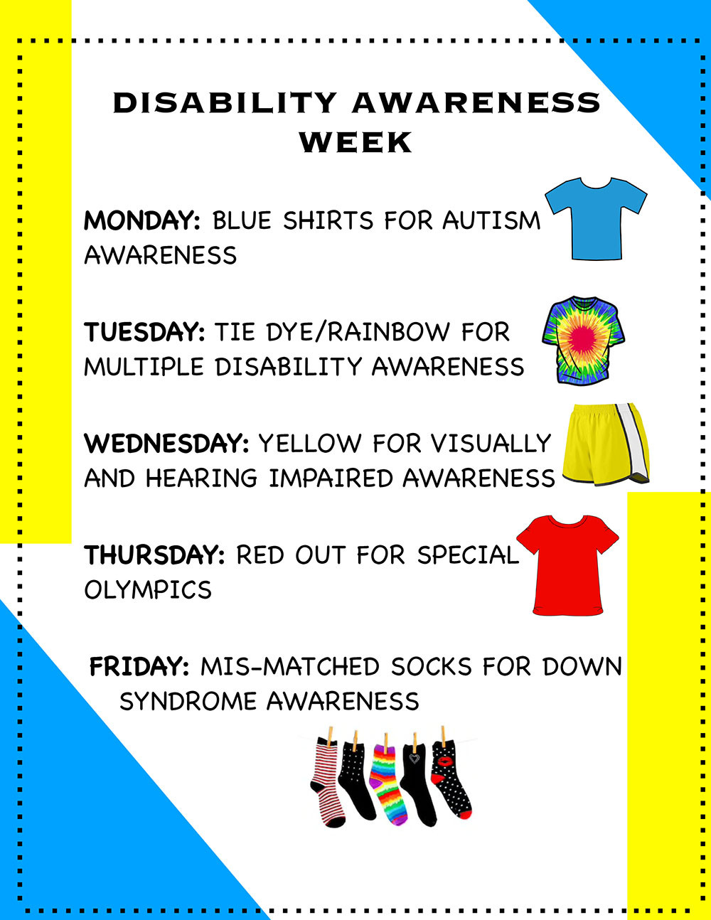 Inclusion Week poster
