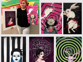 GHS Student Wins Art Portfolio Contest