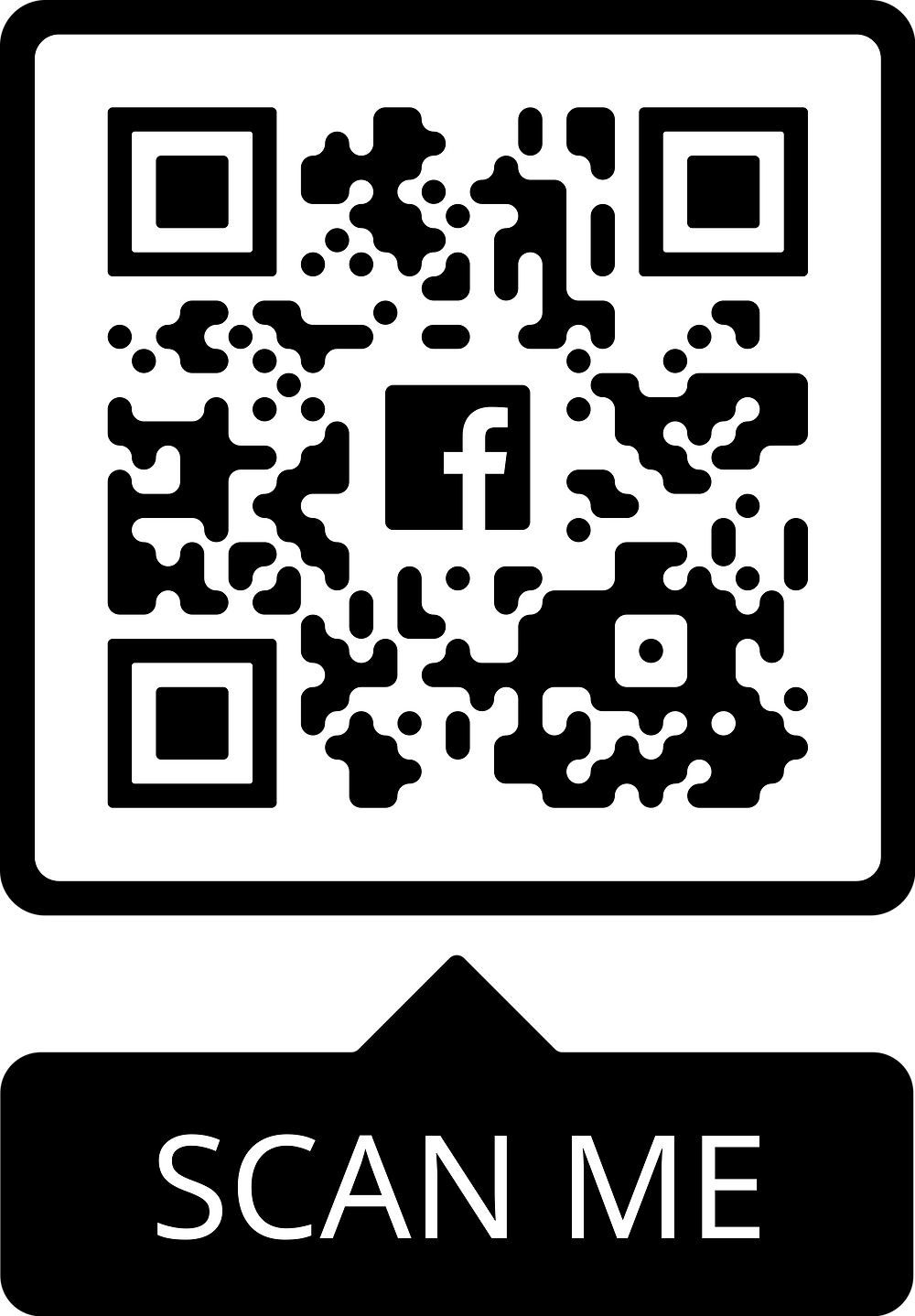 QR scan code for Scholastic Art Facebook page
