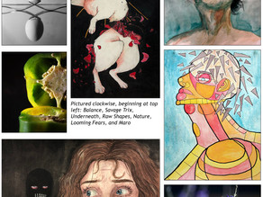 GHS Artwork Accepted in SIUe's Juried Art Exhibition ~ Virtual Awards March 18