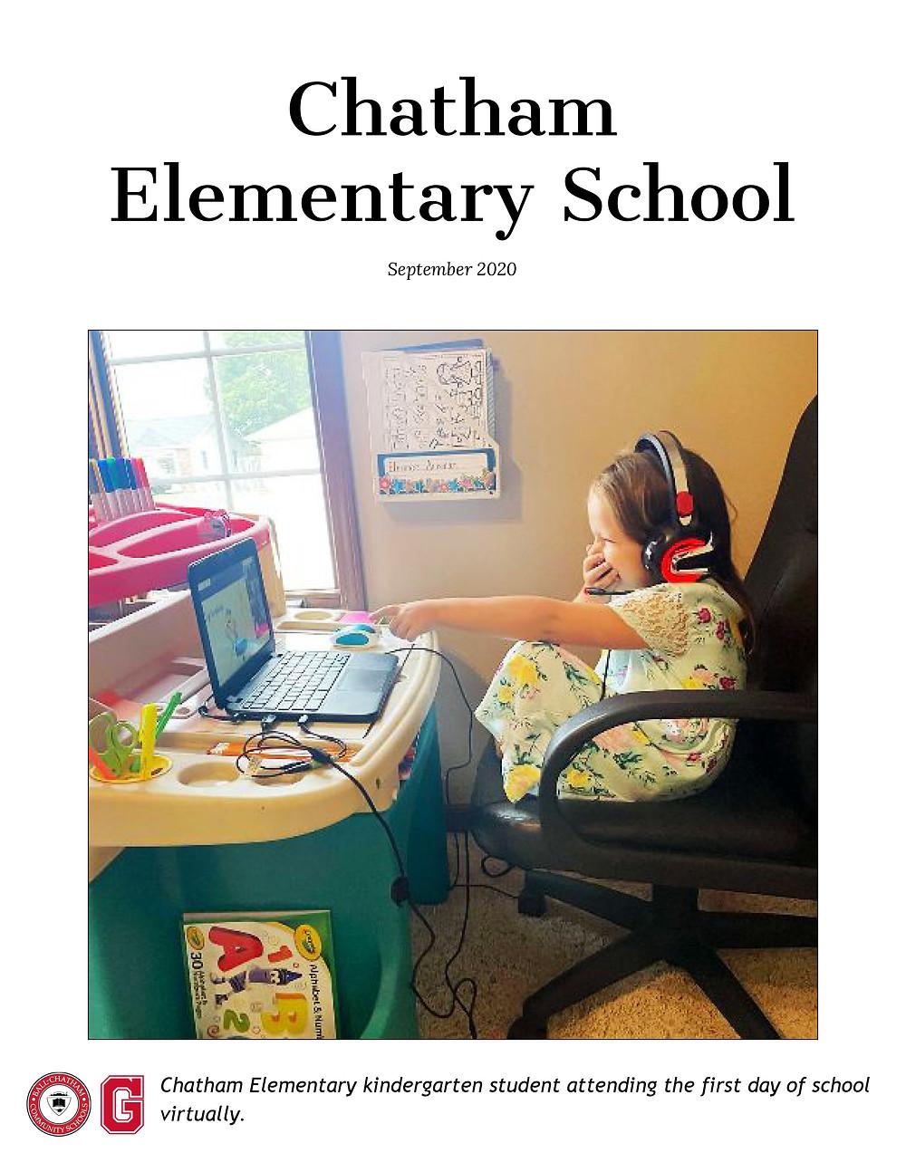 Chatham Elementary Sept. 2020 Newsletter