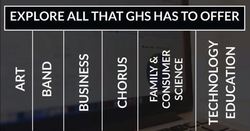 GHS Electives graphic