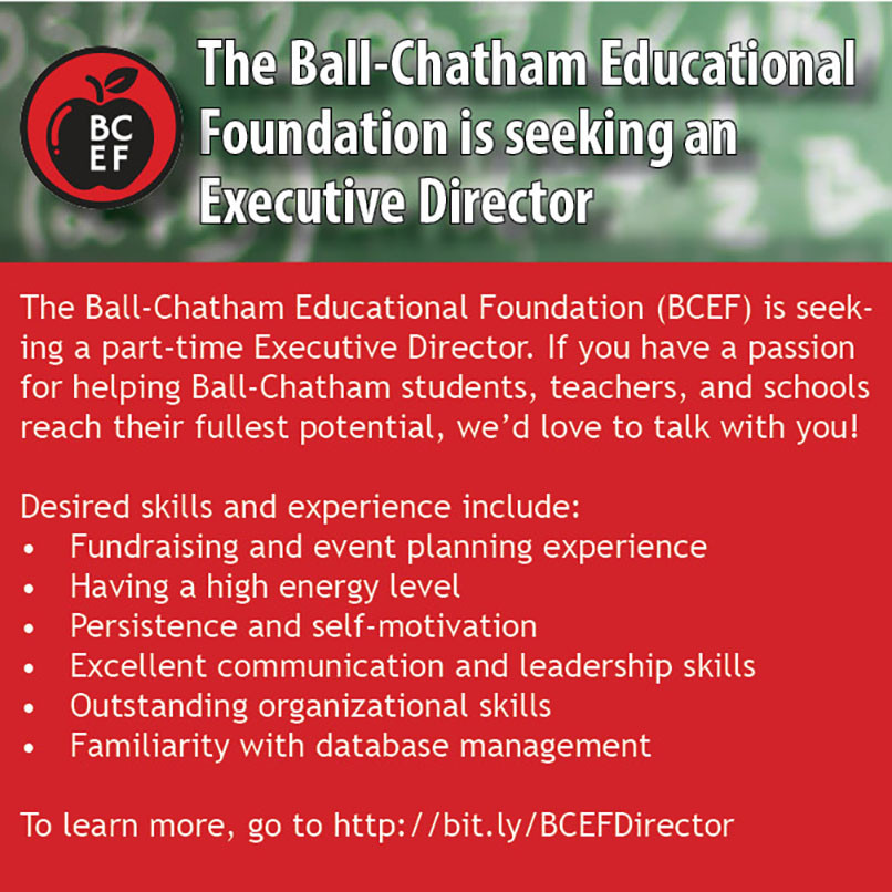 BCEF Ad for Executive Director