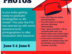 New BCG PTO Fundraiser! Graduation Mini Photography Sessions