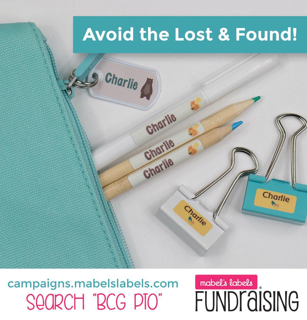 BCGPTO Fundraiser flyer