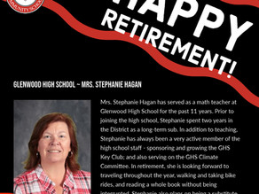 Honoring Glenwood High School's Retirees