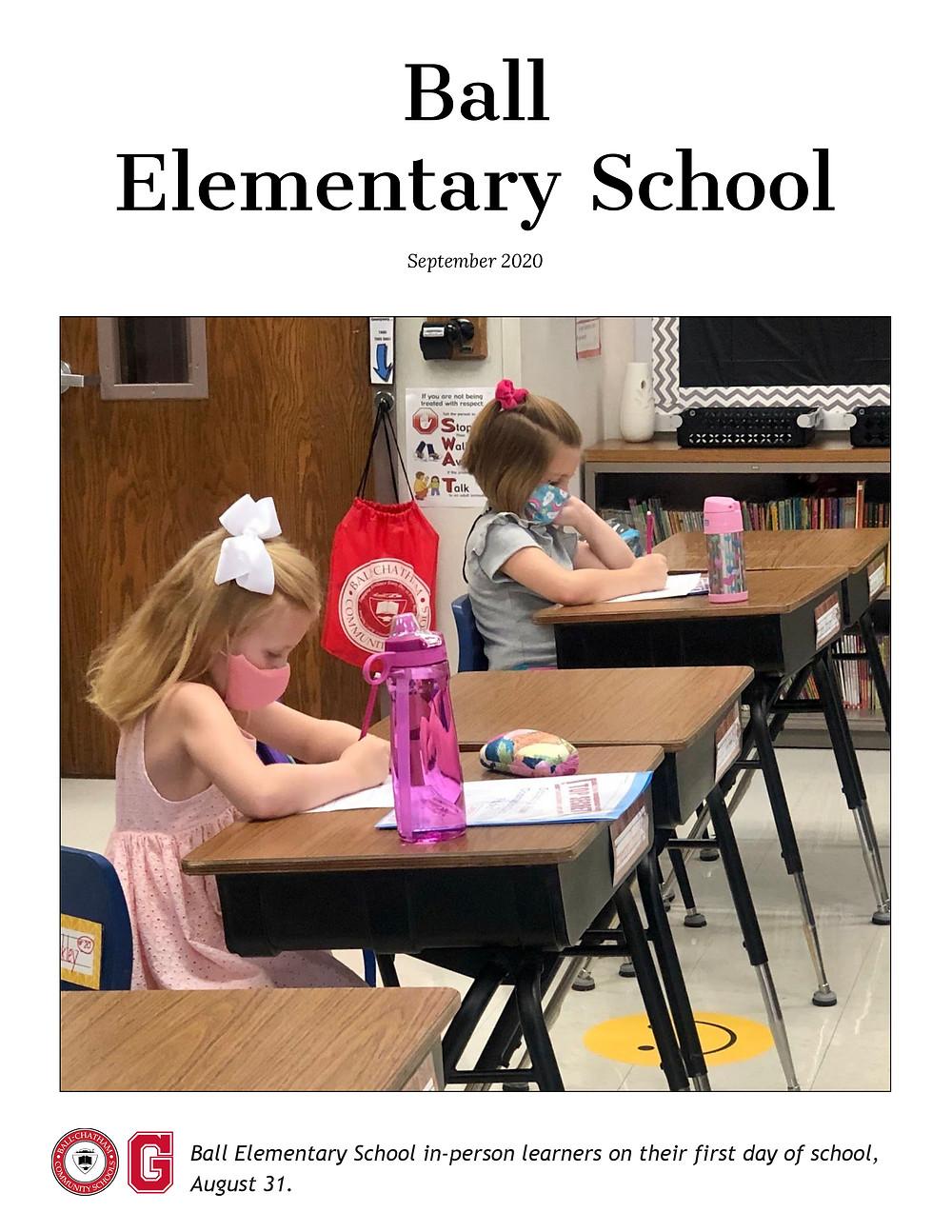 Ball Elementary Sept. 2020 Newsletter