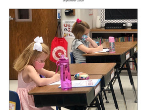 First BES Newsletter of the 2020-21 School Year is Out