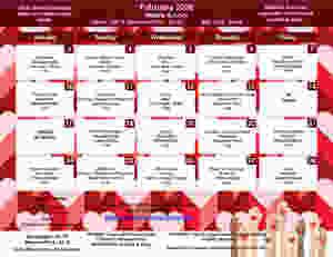 February menu for GMS