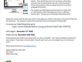 Book eFair Continues Until Nov. 25