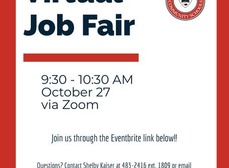 Ball-Chatham to Host Virtual Job Fair October 27