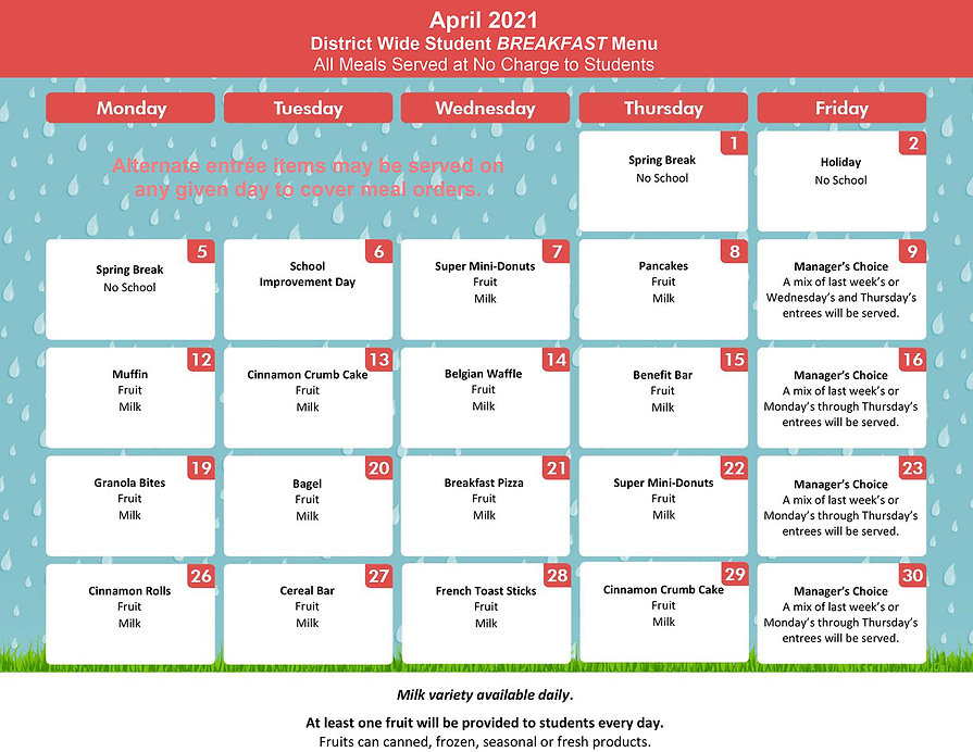 April - District Wide Menu BREAKFAST - (